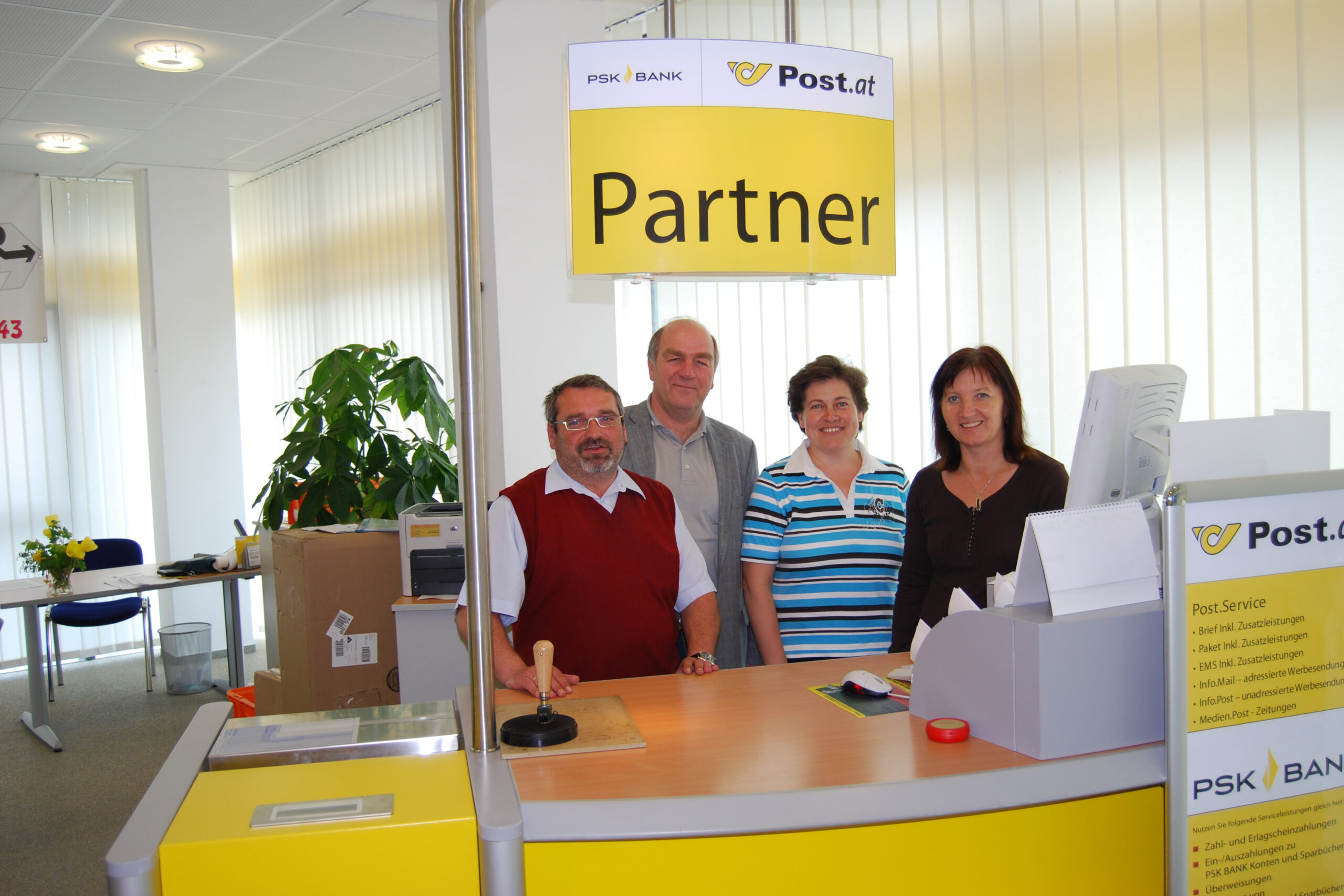 Neues Reisebüro und Übernahme Post Partner