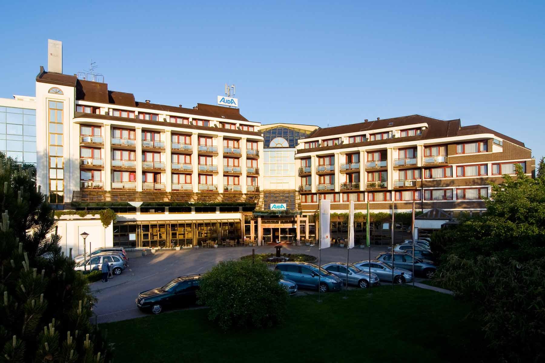 Hotel Ajda Außenansicht